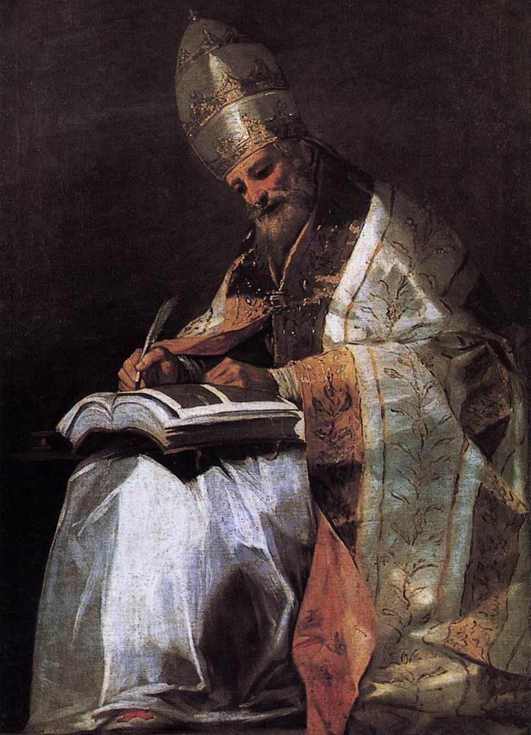Thánh Grêgôriô Cả, Giáo Hoàng, Tiến Sĩ Hội Thánh (540 – 604)