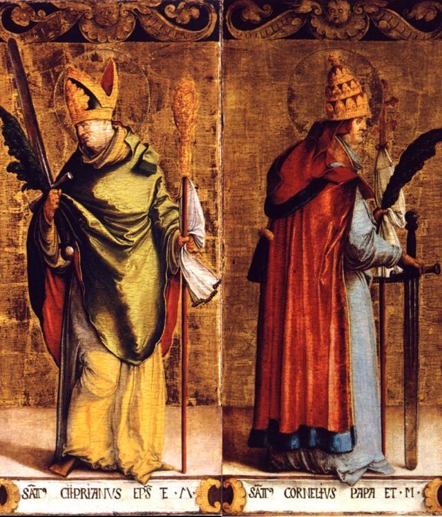Thánh Corneliô, Giáo Hoàng Tử Đạo (+253)