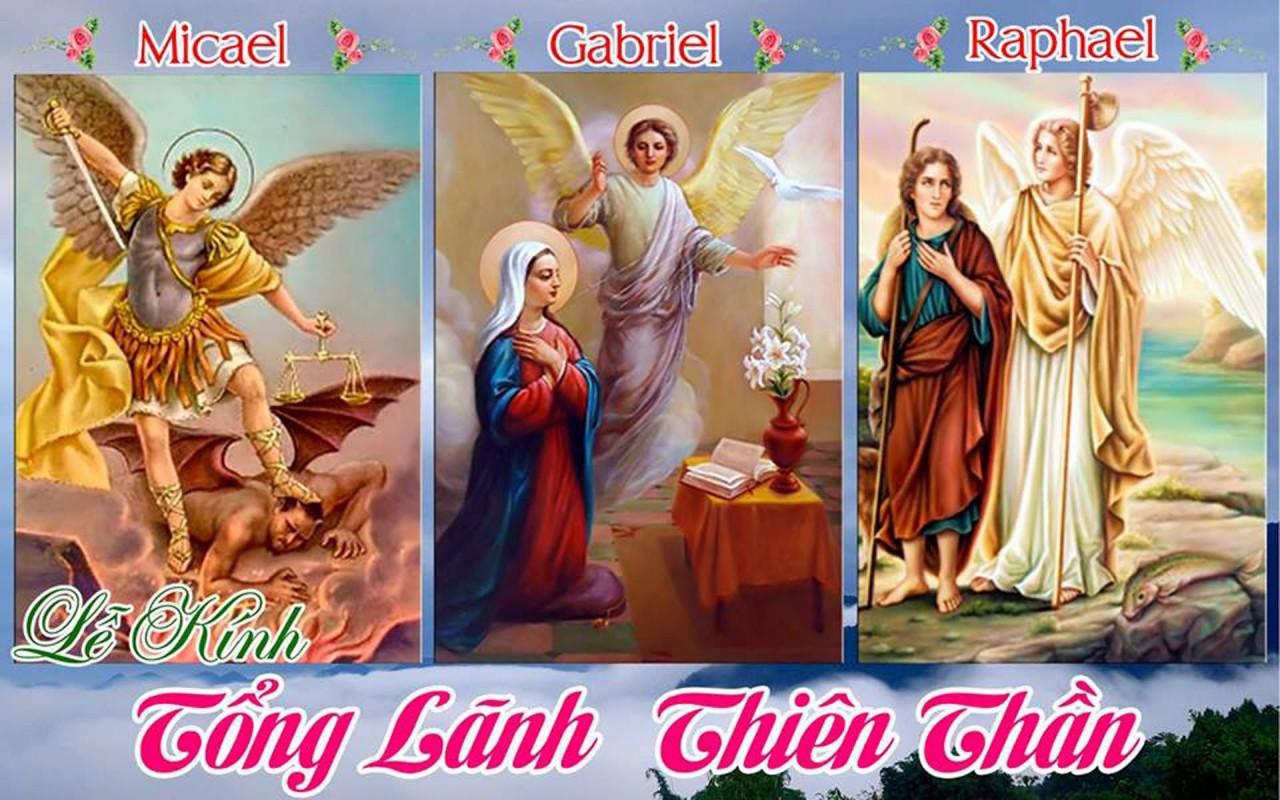 Các Tổng Lãnh Thiên Thần Micae, Gabriel, Raphael
