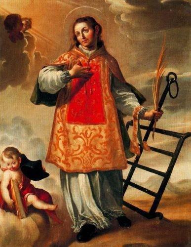 Thánh Laurensô, Phó Tế Tử Đạo (+258)