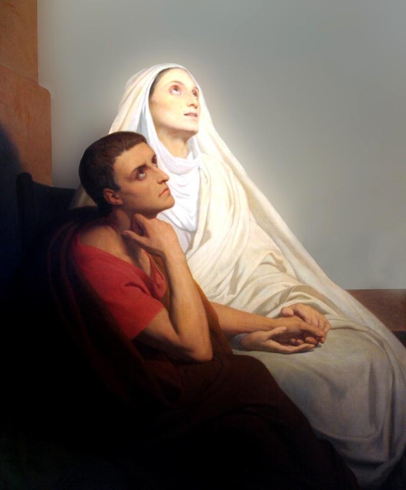 Thánh Monica (331 – 387)