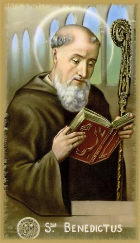 Thánh Bênêđitô, Tu Viện Trưởng (480 – 547)