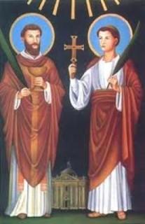 Thánh Marcellinô, Phêrô, Tử Đạo (+304)