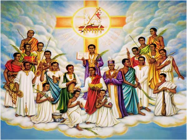 Thánh Carolô, Phêrô Lwanga, và Các Bạn Tử Đạo (1885 – 1887)