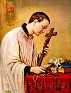 Thánh Lu-y Gonzaga, Tu sĩ (1568 – 1591)