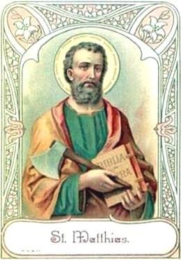 Thánh Matthia, Tông Đồ (Thế kỷ I)