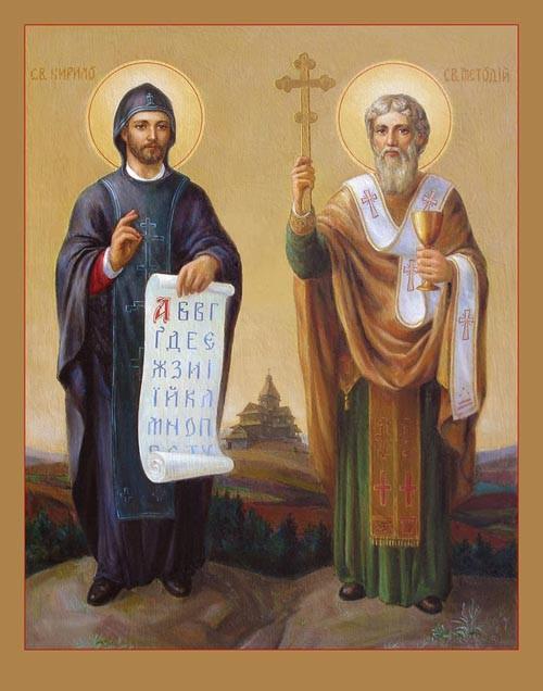 Thánh CyrillôTu Sĩ và thánh Mêtôđiô Giám mục (….869 và 884 )