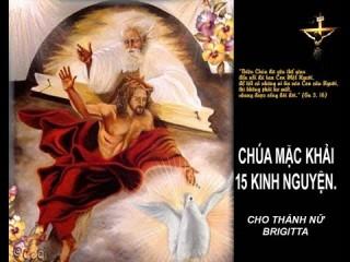 CHÚA MẶC KHẢI 15 KINH NGUYỆN