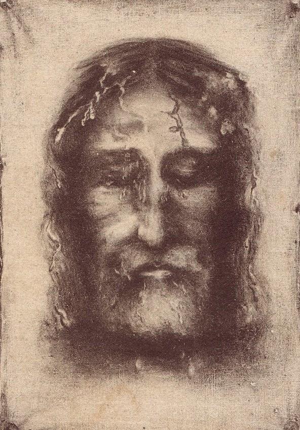 Trước tấm vải liệm xác Chúa Giêsu tại Turinô