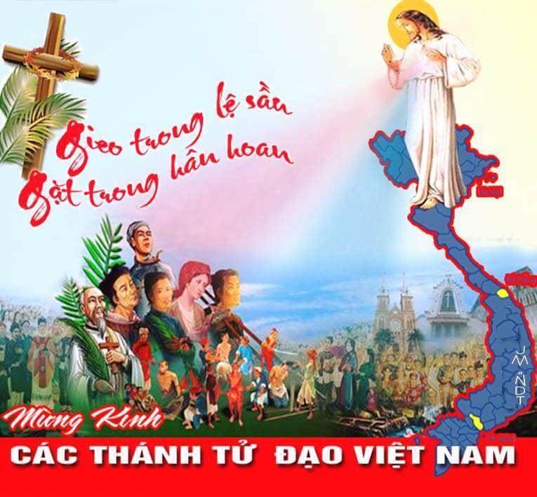Kinh Kính Các Thánh Tử Đạo Việt Nam